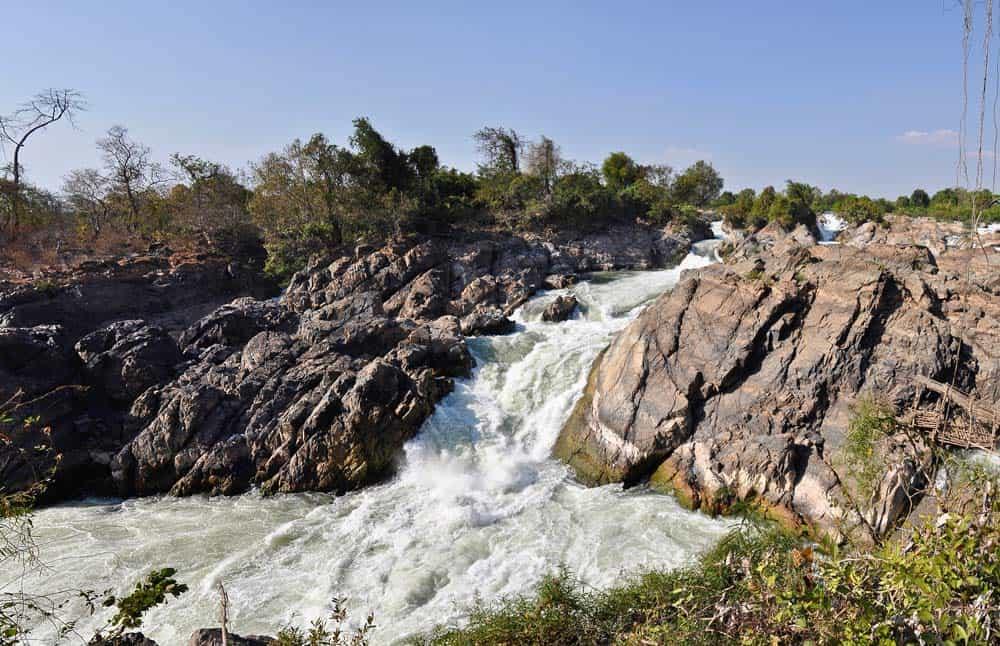 Fiume Khone Phapheng 4000 isola Laos
