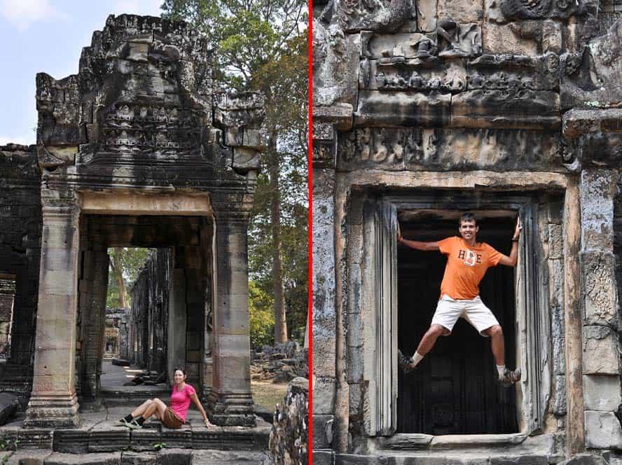 Templos en el circuito grande, Angkor Wat, Camboya