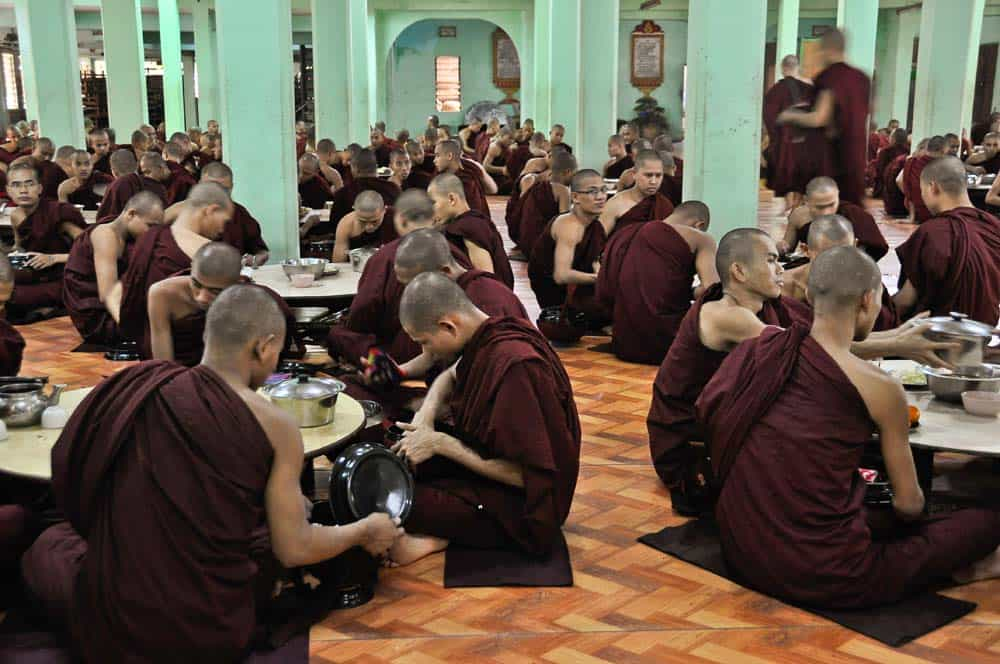 Eating Monks
