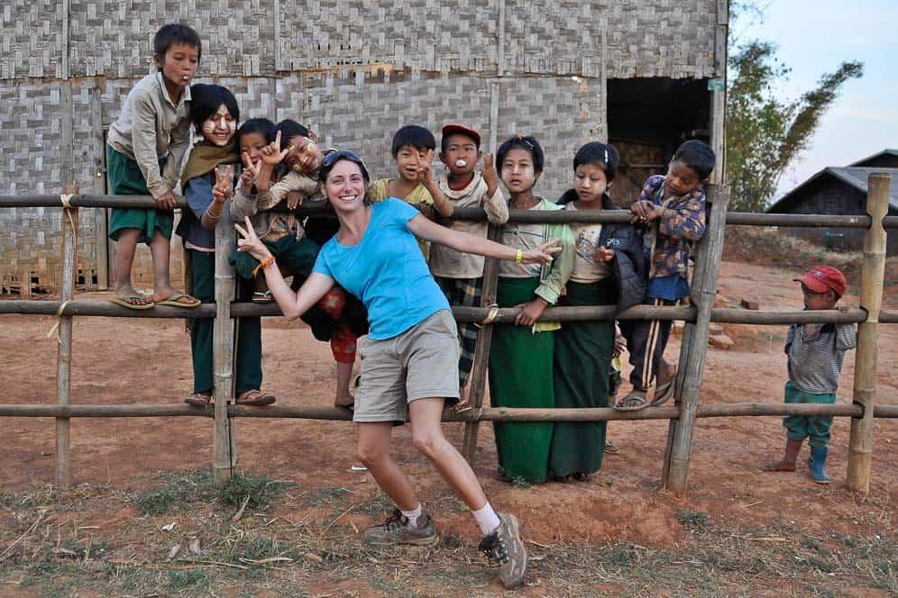 Kids in Kyauk Su
