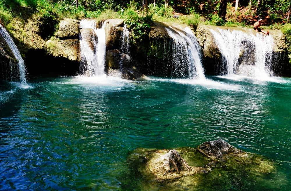 Cascate Cambugahay nell'isola di Siquijor | Viaggio Filippine