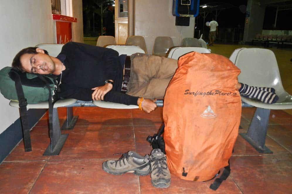 Dormendo nell'aeroporto di Manila | Viaggio Filippine