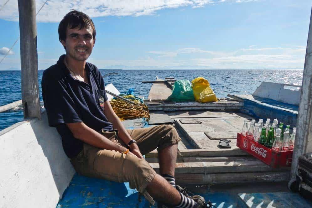 Arrivando all'isola di Malapascua | Viaggio Filippine