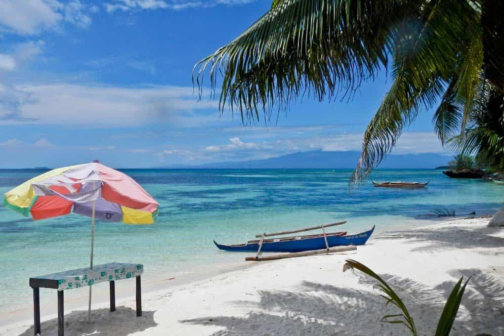 Spiaggia San Juan isola di Suquijor | Viaggio Filippine