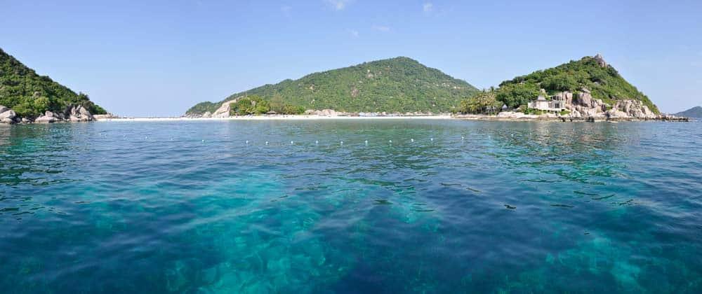 Koh Nangyuan | donde hacer snorkelling en Koh Tao
