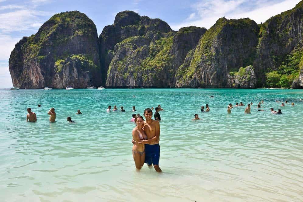 Maya Beach, Koh Phi Phi, Tailandia