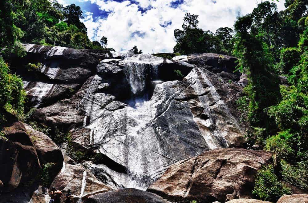 Cascata Seven Wells a Lagkawi | Viaggio in Malesia