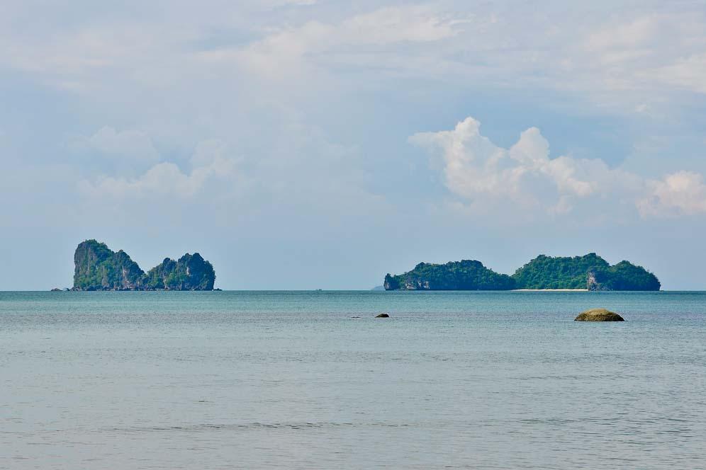 Isolotti nell'isola di Lagkawi | Viaggio in Malesia