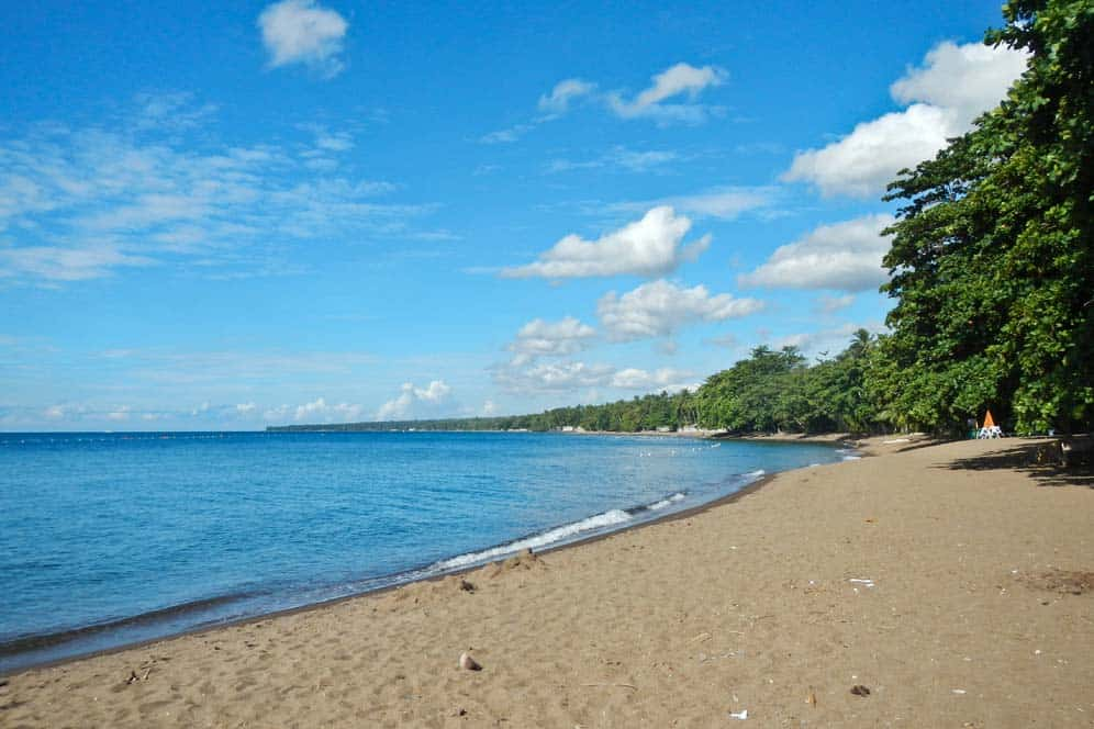 Spiaggia Dauin Dumaguete | Viaggio Filippine