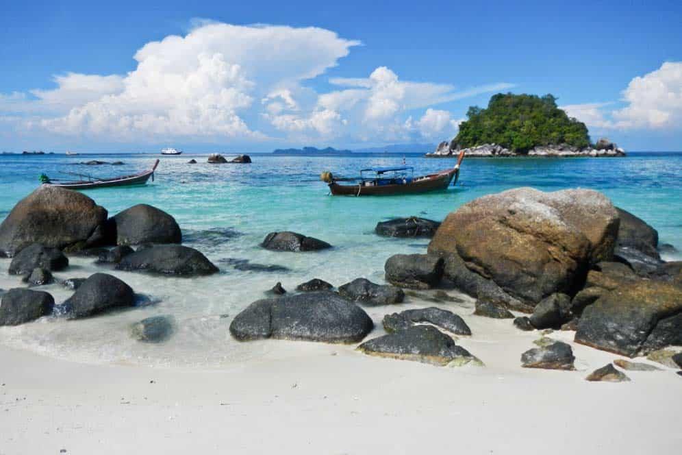 Barcos, Koh Lipe, Tailandia