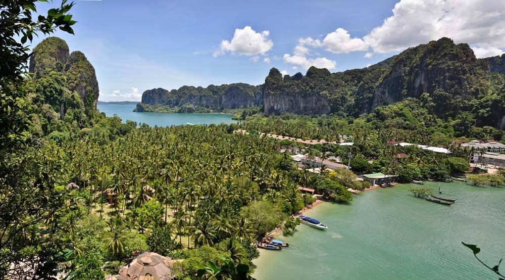 Mirador, Playa Railay, Tailandia