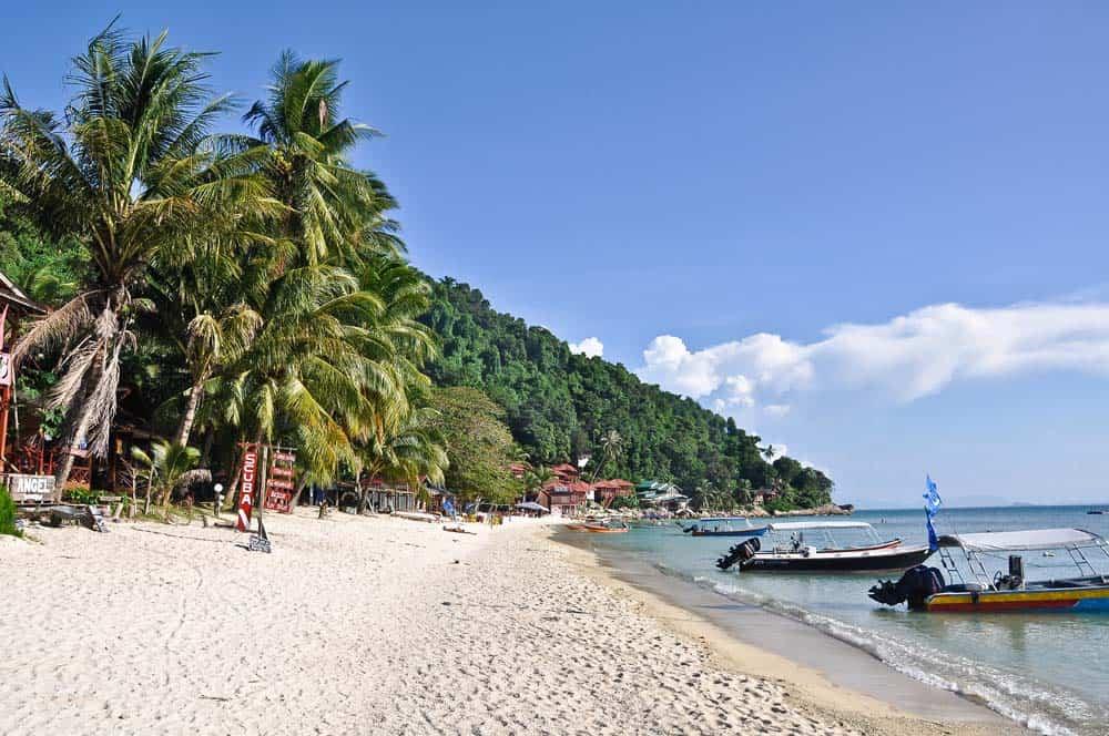 Spiaggia Coral Bay isola Perhentian Kecil | Viaggio in Malesia
