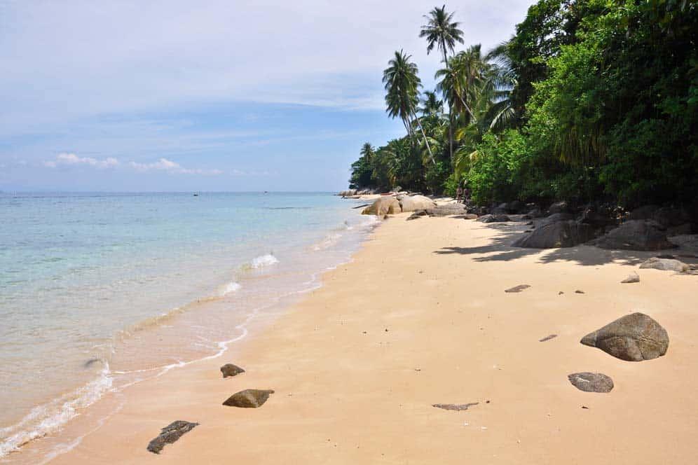 Spiaggia Petani nell'isola di Perhentian Kecil | Viaggio in Malesia