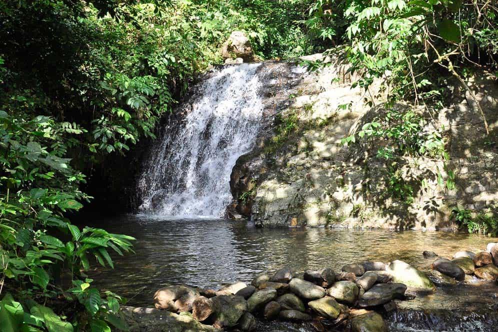 Cascata en el parque Gunung Leuser