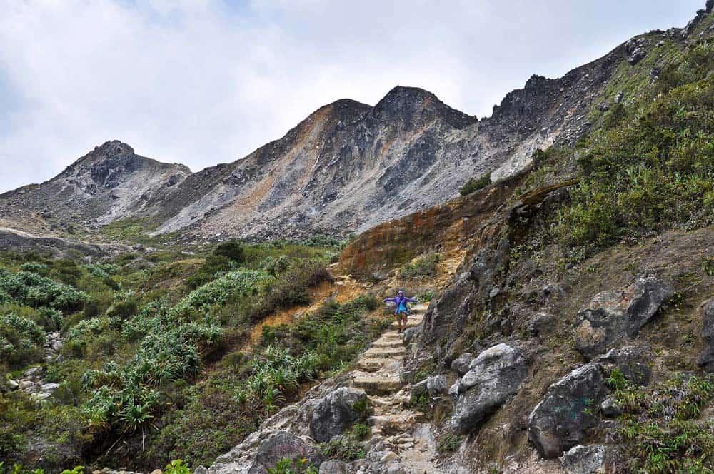 Gunung Sibayak trekking
