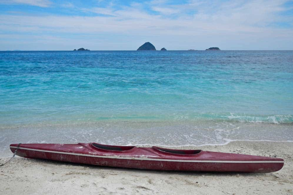 Kayak en Romantic Beach