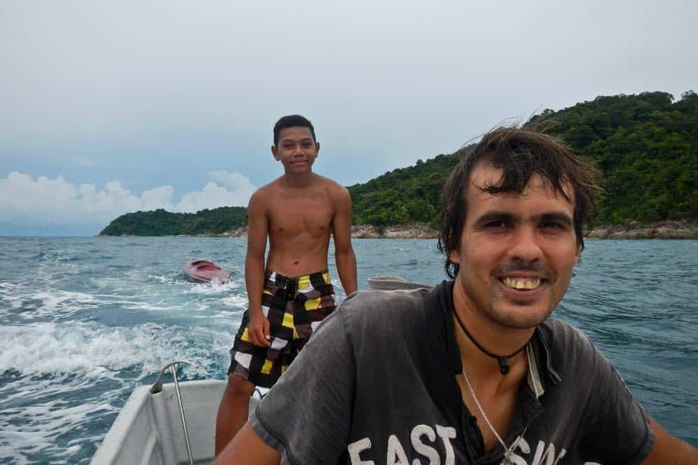 Taxi nell'isola di Perhentian Kecil, | Viaggio in Malesia