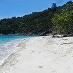Da una spiaggia all'altra nell'isola Perhentian