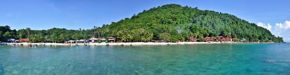 Panorama isola Perhentian Kecil | Viaggio in Malesia