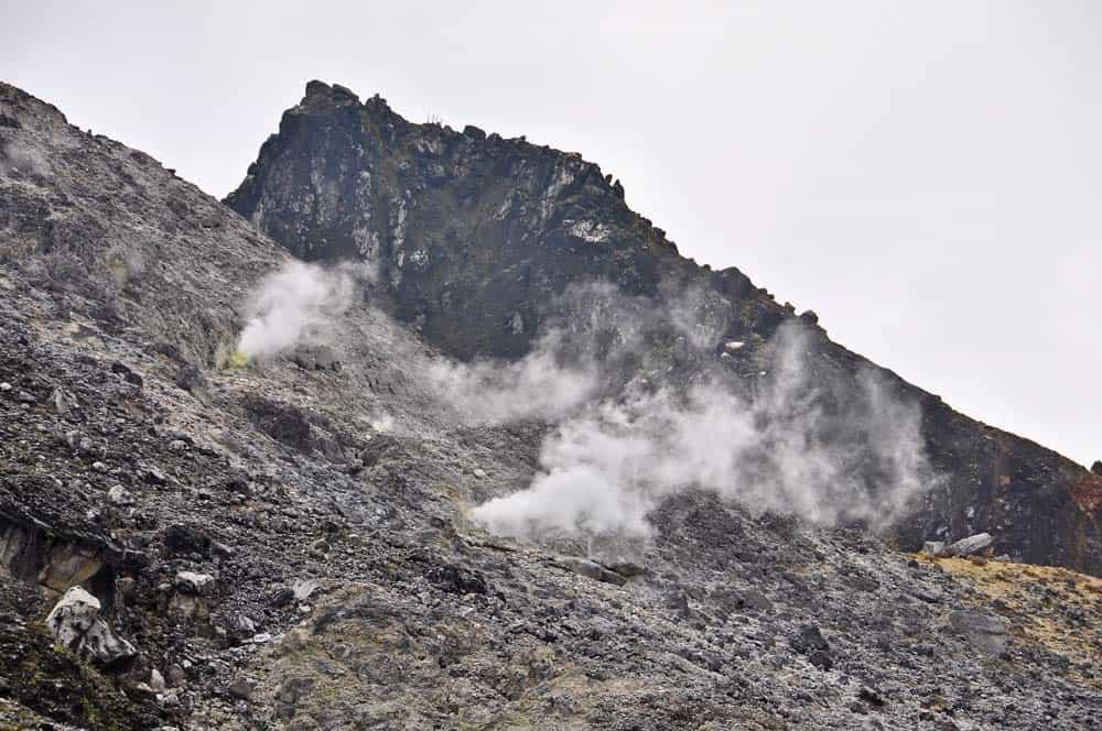 Gunung Sibayak fumarolas