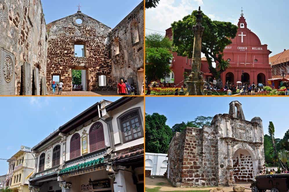 Monumenti di Melacca | Viaggio in Malesia