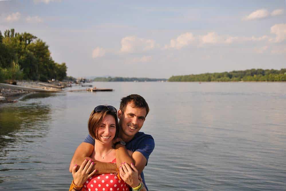 En el Danubio en Budapest
