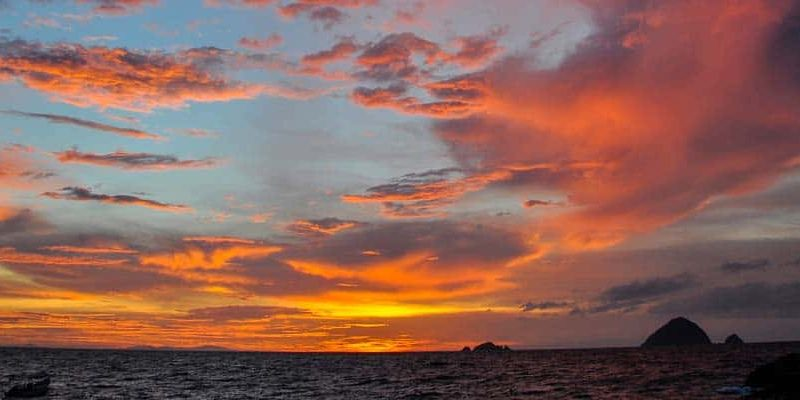 Perhentian Island Colorful Sunset