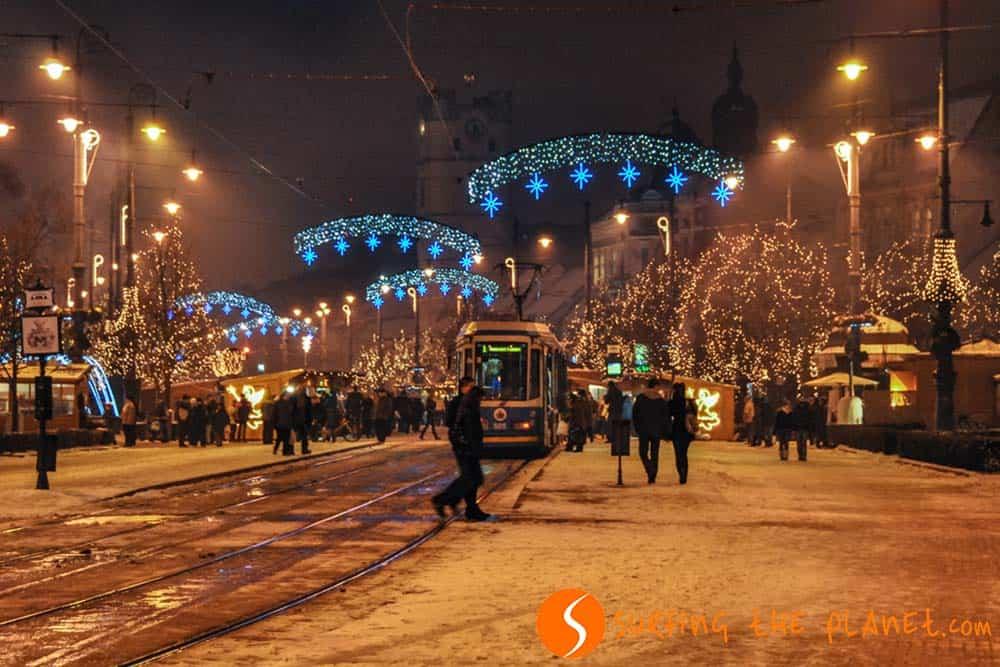 Luces de Navidad Debrecen