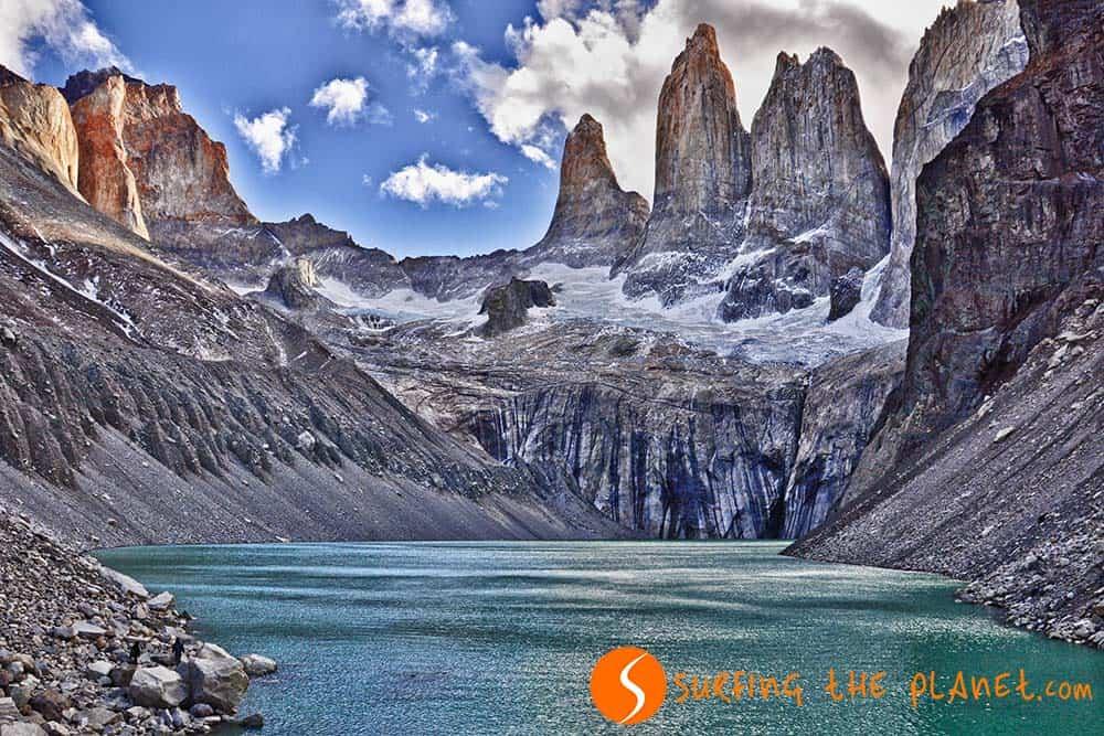 Las torres del Parque Nacional Torres del Paine