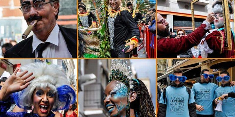 Carnival in Sitges