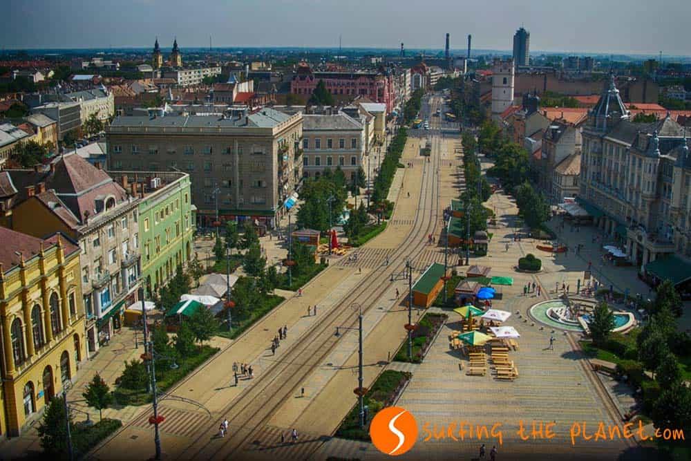 Vista de Debrecen