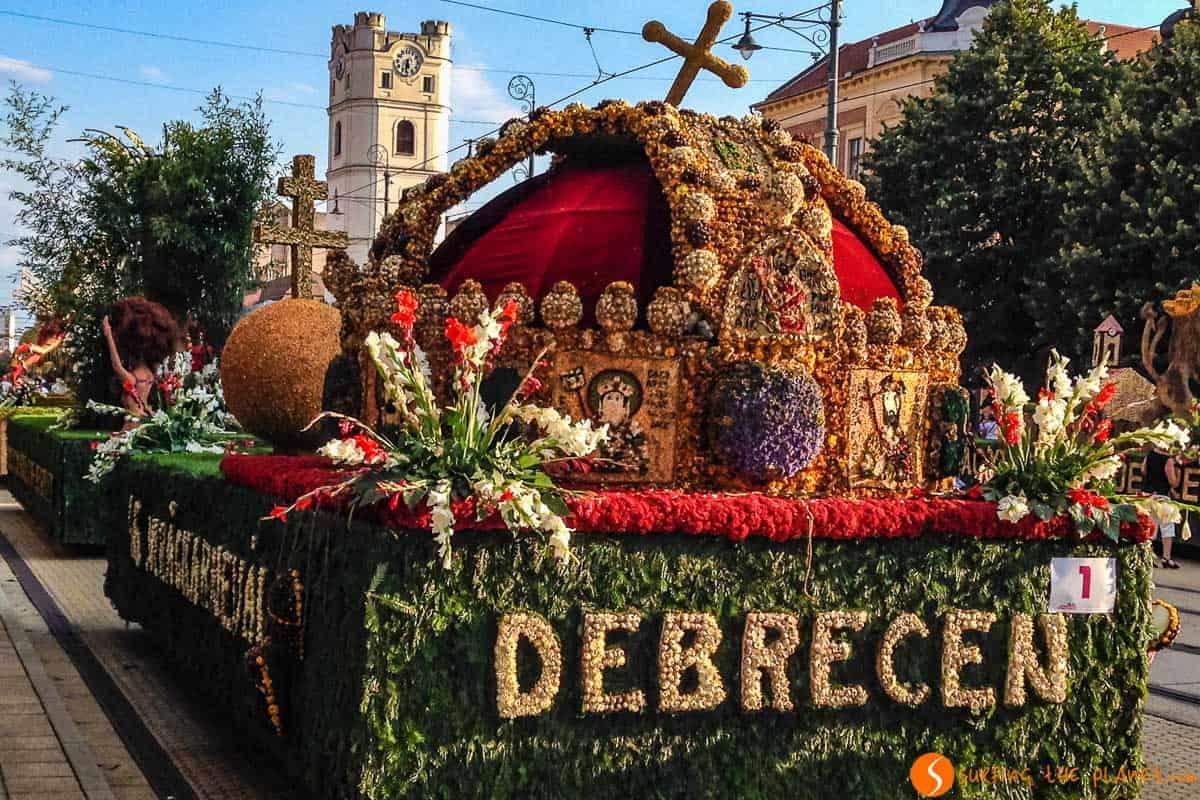 Festival de Flores, Debrecen, Hungría