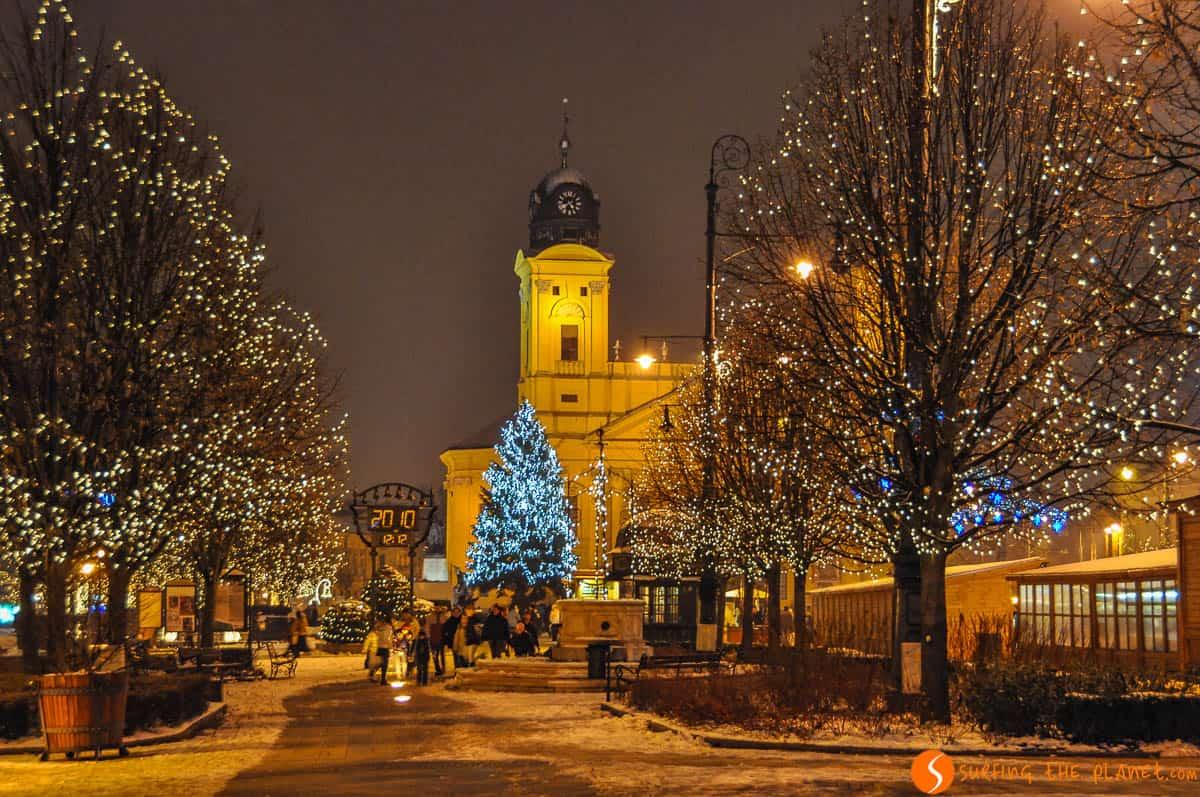 Luces de Navidad, Debrecen, Hungría | Qué ver y hacer en Debrecen
