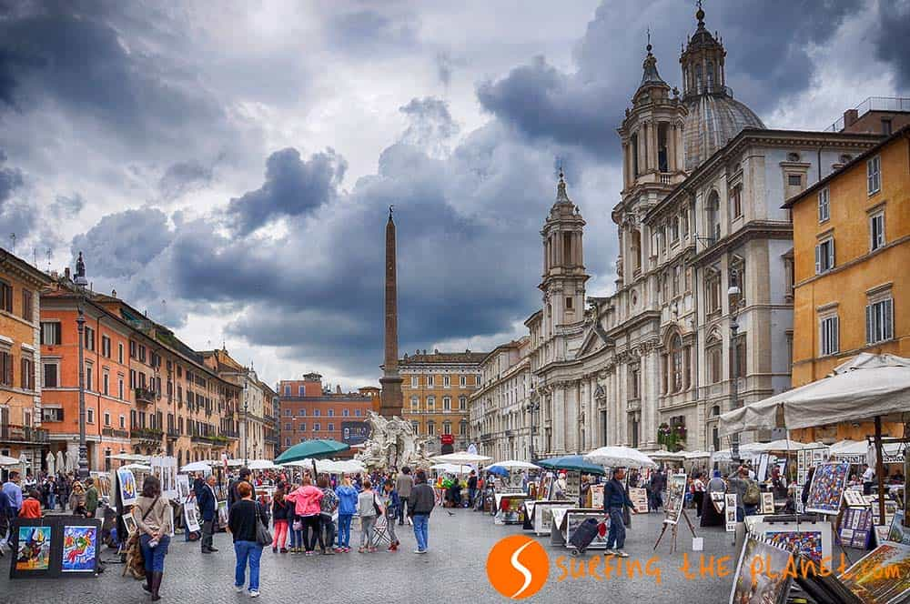 what to see in Rome Piazza Navona Square