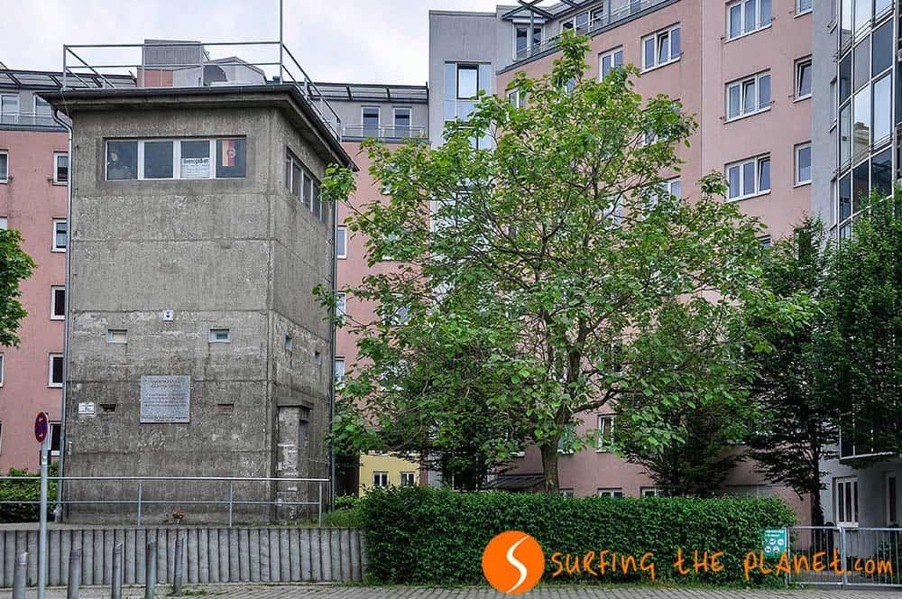 Torre de control Gedenkstätte Günter Litfin