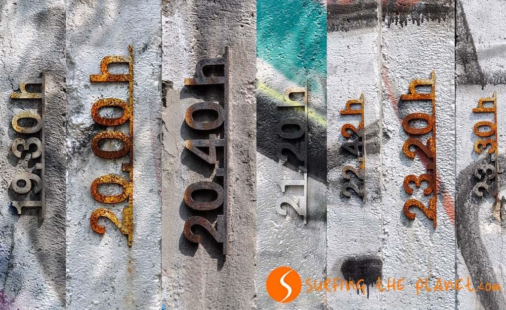 Muro de Berlín Bornholmer Straße