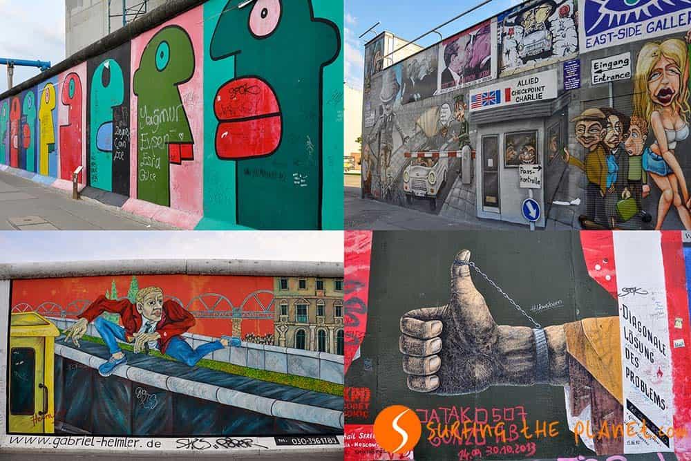 East Side Gallery en Berlín