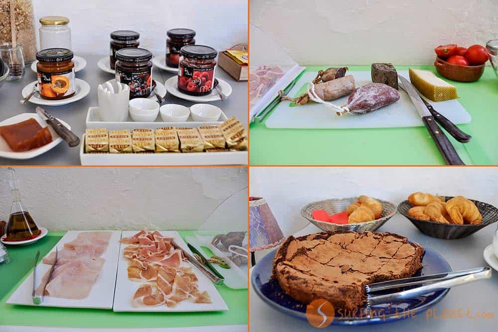 productos tipicos catalanes desayuno hotel Cluc Begur