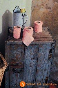 carta igienica in viaggio