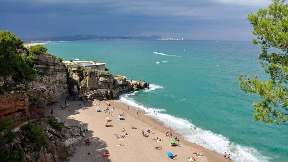 Illa Roja playa Begur