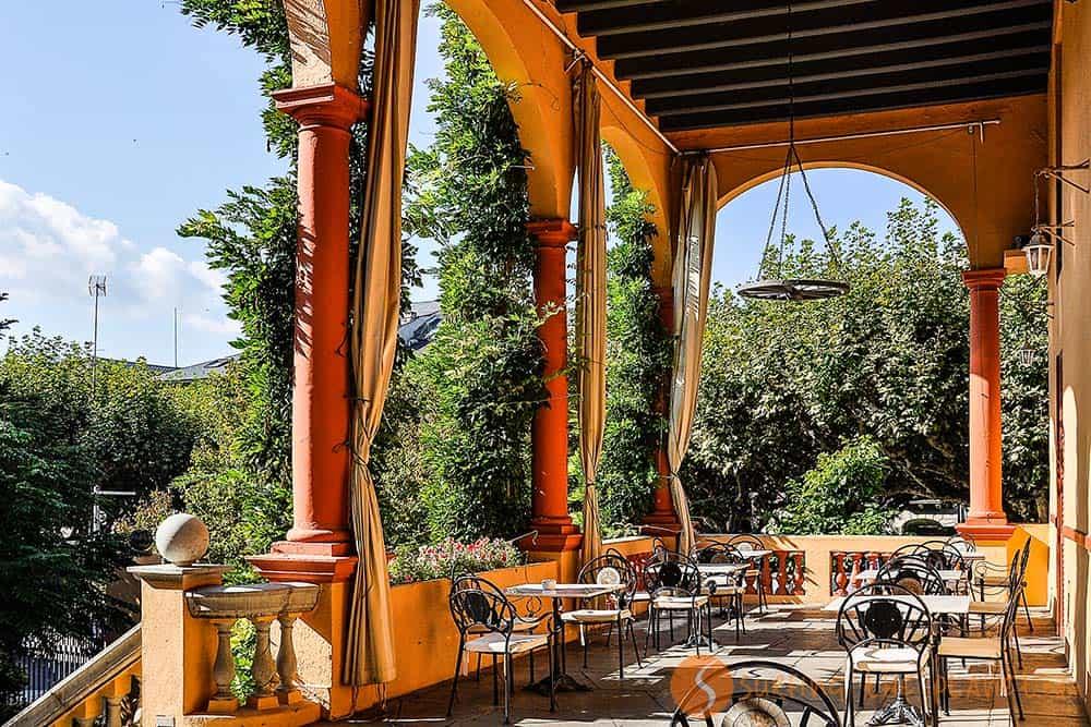 Terraza hotel Andria La Seu D'Urgell