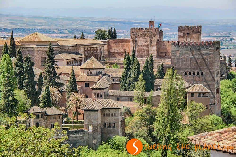 Alhambra, Granada, España | Los 25 mejores palacios y castillos de Europa