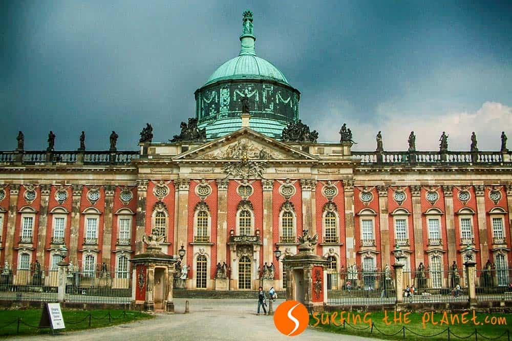 Castillo de Poznan, cerca de Berlin, Alemania