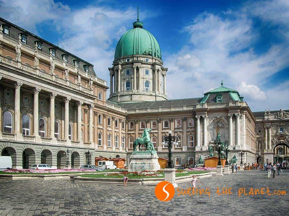Castillo de Buda, Budapest, Hungría | Castillos históricos en Europa