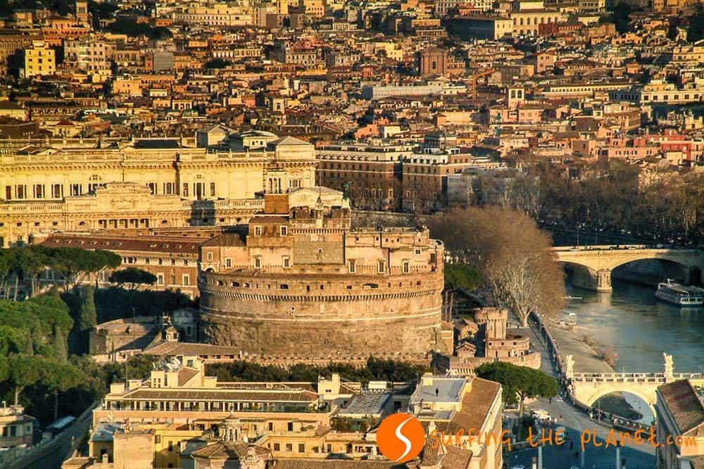 Castillo San Angelo, Roma, Italia | Los castillos más importantes de Europa