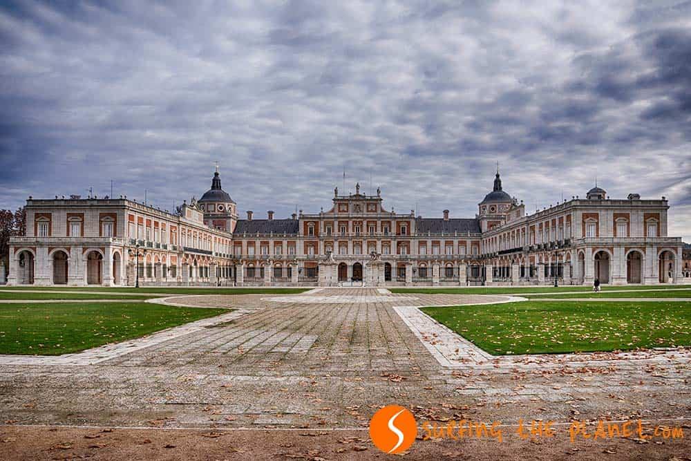 Palacio Aranjuez cerca de Madrid, España