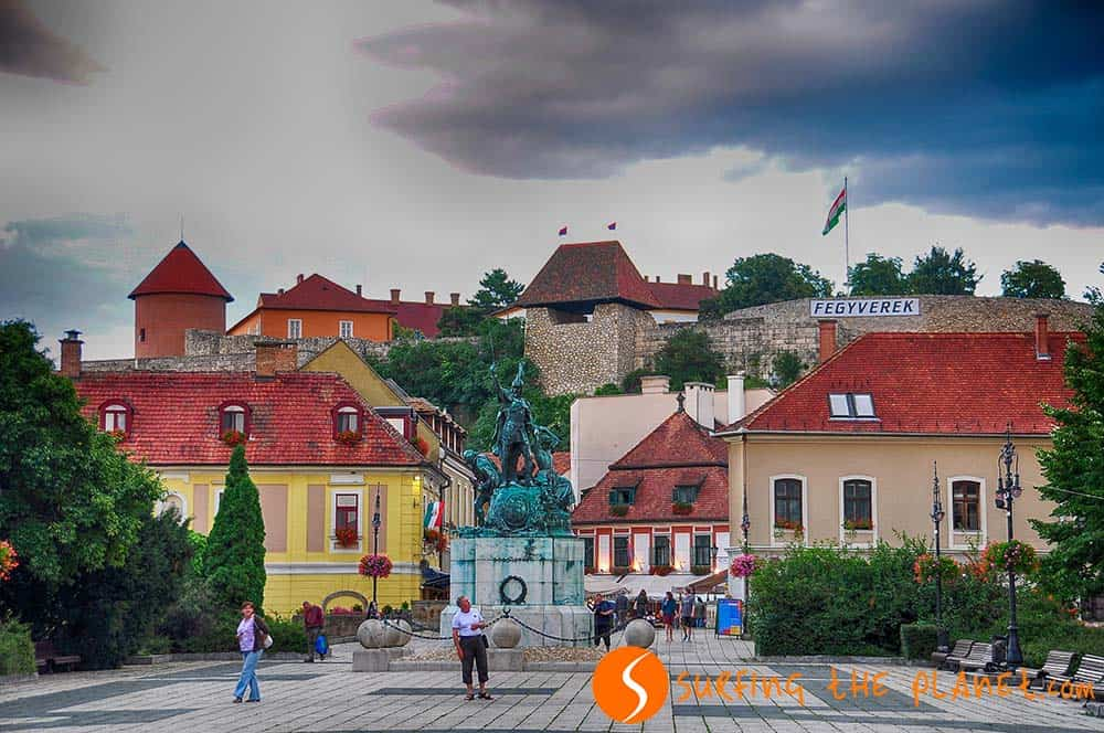 Castillo de Eger, Eger, Hungría