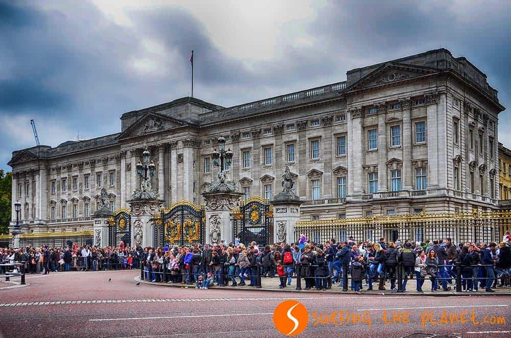 Castillos en Euopa - Buckingham-Palace -Inglaterra