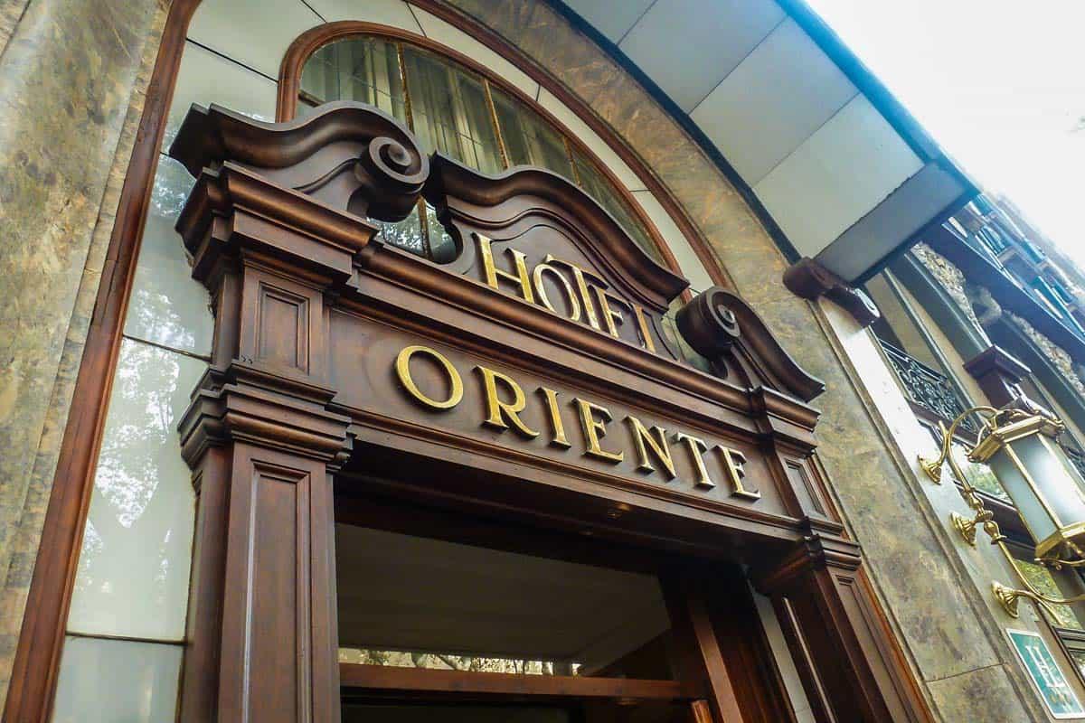 hotel-oriente-barcelona | The secrets of Barça