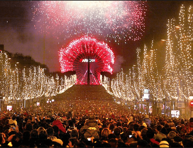 5 lugares donde pasar año nuevo Paris